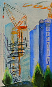 High Rise Paintings - Development by Beverley Harper Tinsley