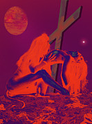 Devils Playground Print by Tbone Oliver