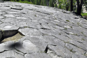 Shape Photo Originals - Devils Postpile - Nature and Science by Christine Till