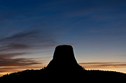 Wyoming Originals - Devils Tower Wyoming by Steve Gadomski