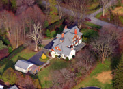 Residential Real Estate Aerial Photographs - Devon Main Line Pennsylvania by Duncan Pearson