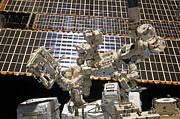 Dexterous Prints - Dextre, The Canadian Space Agencys Print by Stocktrek Images