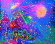  Hippie Painting Prints - Dg00010 Print by Adam Slater