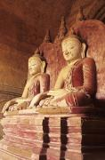 Southeast Asia - Dhammayangyi Temple Buddhas by Gloria & Richard Maschmeyer - Printscapes