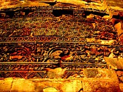 Adendorff Art - Dharma inscription in Sarnath by Lee-Ann Adendorff