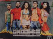 Raj Art - Dhoom 2 by Sandeep Kumar Sahota