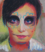 Day Of The Dead Pastels - Dia De Los Muertos by Billie Colson