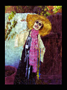 New Mexico Prints - Dia de Los Muertos Old Mesilla Print by Kurt Van Wagner