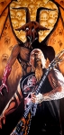Devil Painting Posters - Diabolus in Musica  Poster by Al  Molina