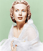 1950s Portraits Photo Metal Prints - Dial M For Murder, Grace Kelly, 1954 Metal Print by Everett