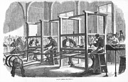 1867 Prints - Diamond Cutters, 1867 Print by Granger