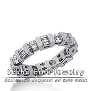 Sasha Fine Jewelry - Diamond Eternity Wedding...