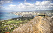 Diamond Head Framed Prints - Diamond Head 2 Framed Print by Jessica Velasco