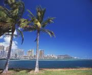 Ala Moana Framed Prints - Diamond head Framed Print by Kyle Rothenborg - Printscapes