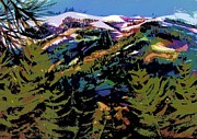 Therese Fowler-Bailey - Diamond Mtn Watercolor...