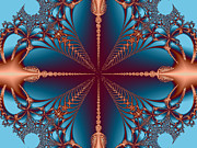 Merging Digital Art - Diamond Rio Cross Roads by Dana Haynes