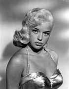 1950s Portraits Framed Prints - Diana Dors, Universal Pictures Framed Print by Everett