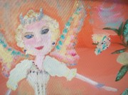 Tiara Paintings - Diana Fairy Charity by Judith Desrosiers