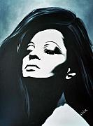Greatest Painting Originals - Diana Ross by Hector Monroy