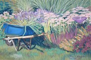 Blooms Pastels - Dianas Garden by Terri Thompson