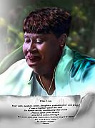 African American Women Paintings - Diane E. Seymour by Reggie Duffie