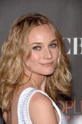 Nokia Framed Prints - Diane Kruger At Arrivals For Peoples Framed Print by Everett
