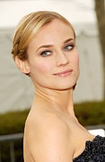 Metropolitan Opera House At Lincoln Center Posters - Diane Kruger At Arrivals For The Poster by Everett