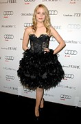 Black Lace Photos - Dianna Agron At Arrivals For Audi by Everett