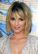 Bobbed Hair Posters - Dianna Agron At Arrivals For Glee The Poster by Everett
