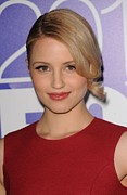 Updo Photo Posters - Dianna Agron In Attendance For Fox 2010 Poster by Everett