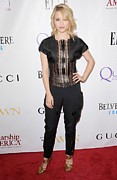 Hand On Hip Posters - Dianna Agron Wearing Gucci Poster by Everett
