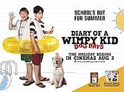 Movie Mixed Media - Diary of a Wimpy Kid Dog Days film art by Anahi DeCanio