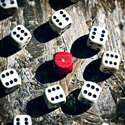 Play Prints - Dice Print by Joana Kruse