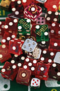 Still Life Photographs Prints - Dice Print by John Rizzuto