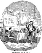 Waiter Prints - Dickens: David Copperfield Print by Granger