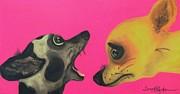 Did I Swallow A Bug Print by Laura  Grisham