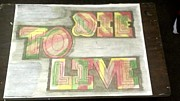 Aston Drawings Originals - Die To Live by Jonathon Hansen