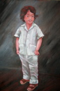 Macho Paintings - Diego by Rachelle Zukerman