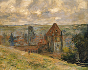 Townscape Art - Dieppe by Claude Monet