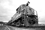 Depot Photos - Diesel Electric Locomotive by Olivier Le Queinec