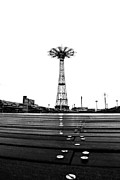 Coney Island Framed Prints - Different Mentality Framed Print by Mitch Cat