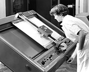 Computational Art - Differential Analyser, 1954 by National Physical Laboratory (c) Crown Copyright