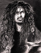 Heavy Metal Drawings - Dime by Kathleen Kelly Thompson