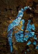 Diminishing Poppy Print by Svetlana Sewell