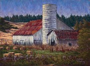 Red Roof Pastels - Diminishing Returns by Debbie Harding
