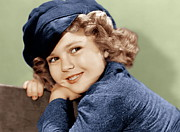 1936 Movies Prints - Dimples, Shirley Temple, 1936 Print by Everett