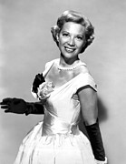 Long Gloves Posters - Dinah Shore, Ca. 1957 Poster by Everett