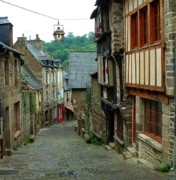 Hilltown Photos - Dinan Port by Kathryn Gordon