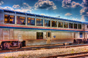 Amtrak Framed Prints - Dine and Ride Framed Print by Joetta West