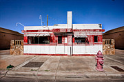 Route 66 Prints - Diner Print by Peter Tellone
